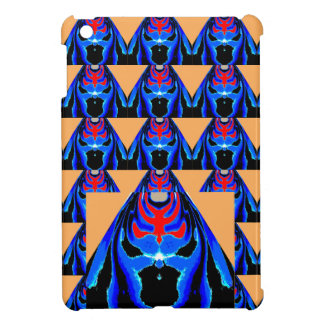 MONSTER Blue Ink : Tin Sheet Cutout Cartoon Case For The iPad Mini