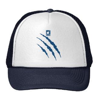 Monster (blue) trucker hat