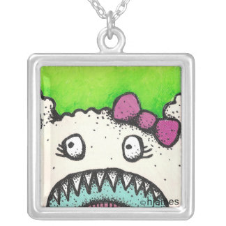 Monster Bow Necklace