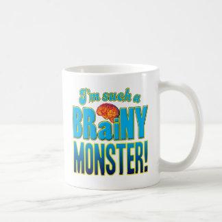 Monster Brainy Brain Classic White Coffee Mug