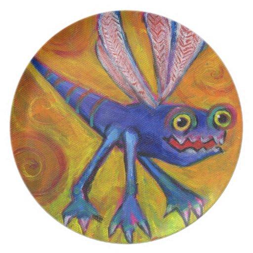 Monster bug plate