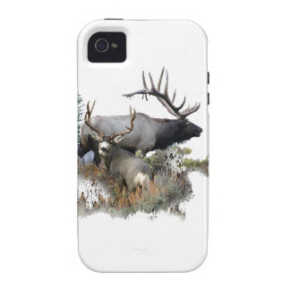 Monster bull trophy buck iPhone 4/4S case