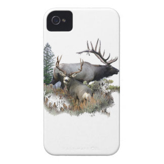 Monster bull trophy buck iPhone 4 Case-Mate case
