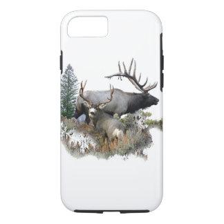 Monster bull trophy buck iPhone 7 case