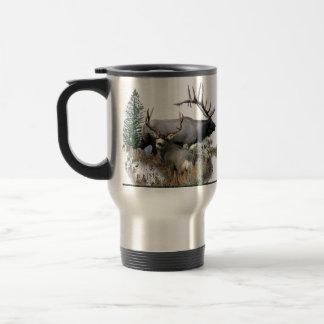 Monster bull trophy buck travel mug