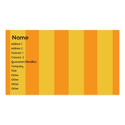 Monster - Business Double-Sided Standard Business Cards (Pack Of 100)