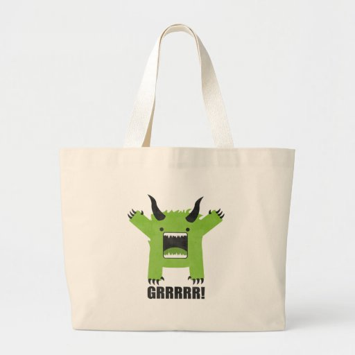 monster canvas bag