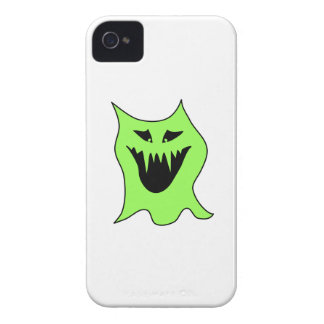 Monster Cartoon. Green and Black. iPhone 4 Case-Mate Case