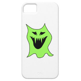 Monster Cartoon. Green and Black. iPhone 5 Cover