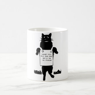 Monster Cat Coffee Mug