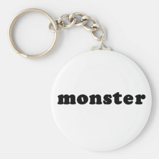 MONSTER Cheap and Generic T shirt Basic Round Button Keychain