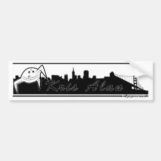monster city bumper sticker