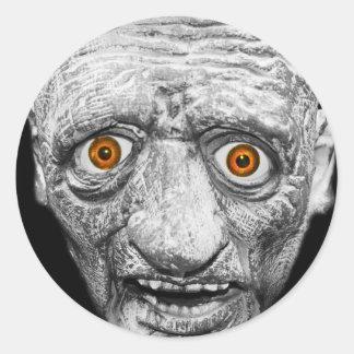 Monster Classic Round Sticker