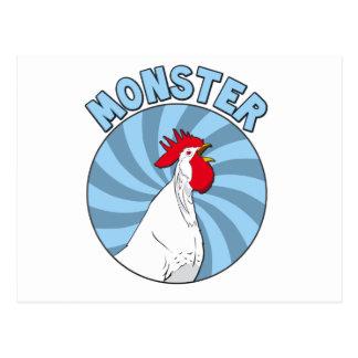Monster cock postcard