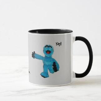 Monster Coffee..., Coffee..., Coffee.., Yay! Mug