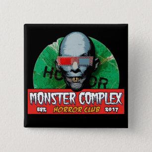 MONSTER COMPLEX 2-INCH SQUARE BUTTON