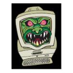 Monster Computer Postcards