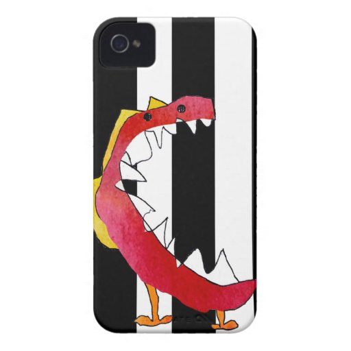 """""""Monster """"created from a 8 year old's drawing iPhone 4 Case-Mate Cases"""