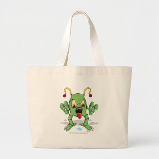 Monster Creature Large Tote Bag