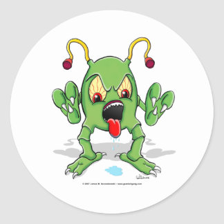 Monster Creature Sticker