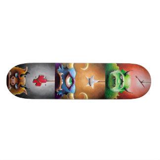 Monster Crew Custom Skate Board