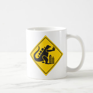 Monster Crossing Classic White Coffee Mug