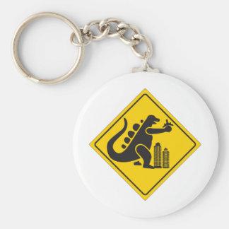 Monster Crossing Keychain