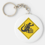 Monster Crossing Keychains