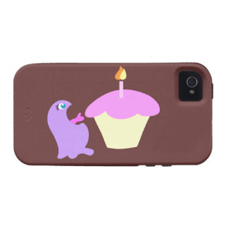 Monster Cupcake iPhone 4s Case - Cute Monster Case iPhone 4/4S Cases