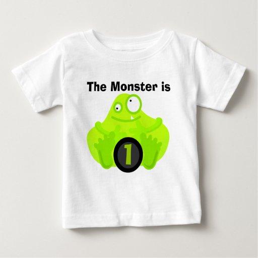 Monster Customizable Birthday Tshirts