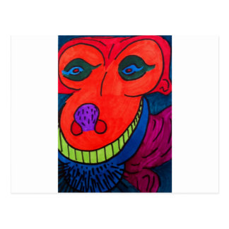 Monster Dawg Postcard