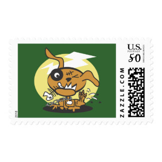 Monster Dog Postage