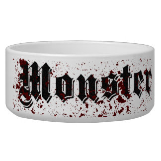 Monster Dog Water Bowl