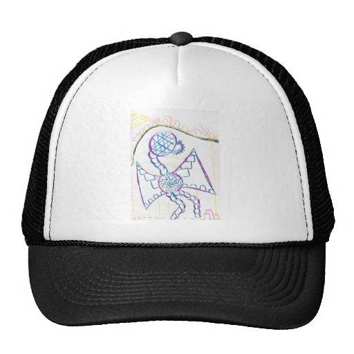 Monster Dragon Pattern Trucker Hat