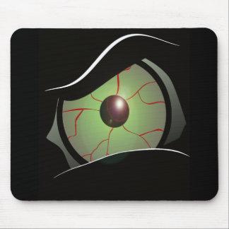 monster eye mouse pad