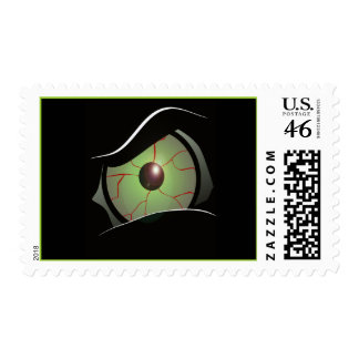 monster eye postage stamps