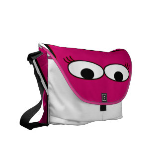 Monster Eyes Courier Bag