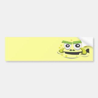 Monster Face Bumper Sticker
