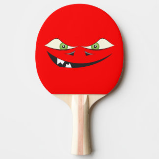 Monster Face Ping Pong Paddle