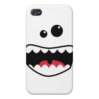 Monster face iPhone 4/4S case