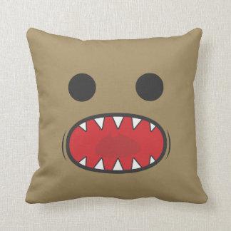 Monster Face Pillow