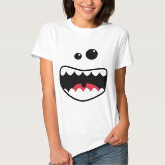 Monster face t-shirt
