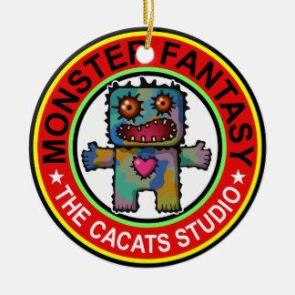 Monster Fantasy 1 Ceramic Ornament
