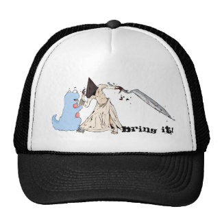 Monster Fight! Mesh Hats