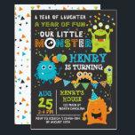 """Monster First Birthday Invitation, Monster Invite<br><div class=""""desc"""">Monster First Birthday Invitation,  Monster Invite</div>"""