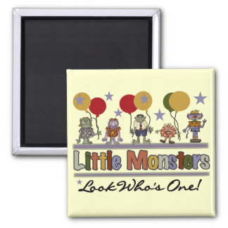 Monster First Birthday T shirts and Gifts Magnet