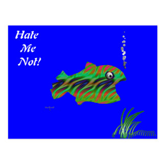 Monster Fish Postcard