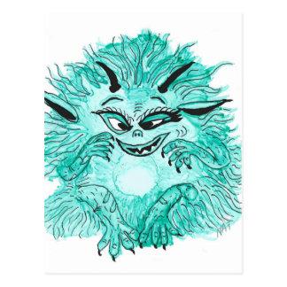 Monster floyd postcard