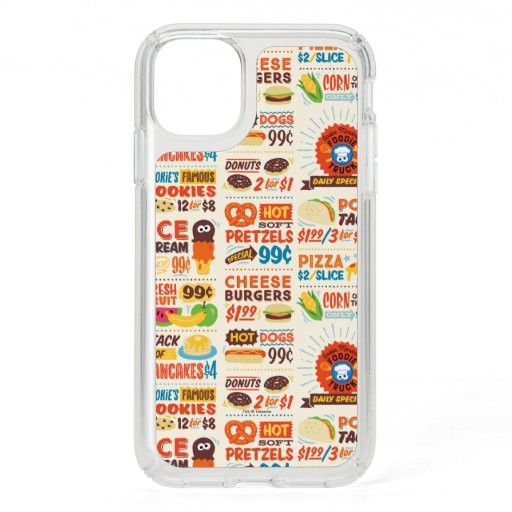 Monster Foodies Pattern Speck iPhone 11 Case