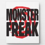 Monster Freak Display Plaques